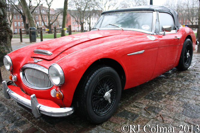 Austin Healey 3000 Mk III, Avenue Drivers Club, Queen Square, Bristol