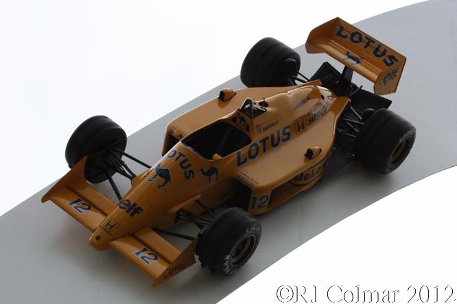 Lotus Honda 99T, Goodwood Festival of Speed
