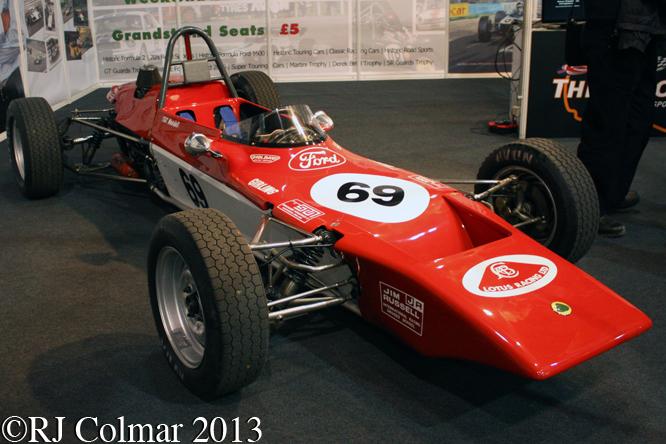 Lotus Ford 69, Race Retro, Stoneleigh