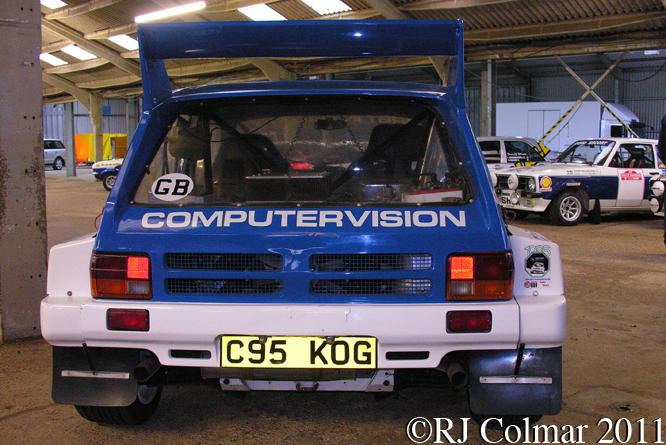 MG Metro 6R4, Race Retro, Stoneleigh