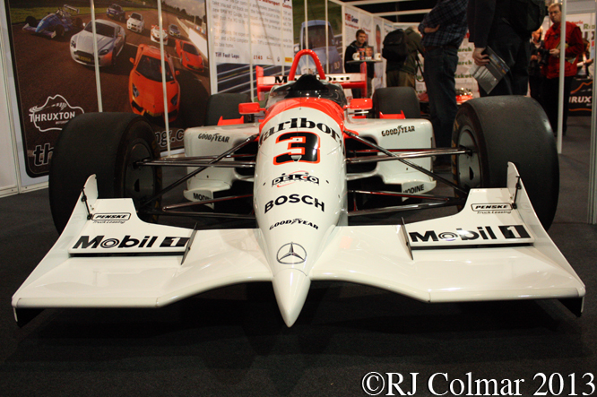 Penske Mercedes Benz PC26, Race Retro, Stoneleigh