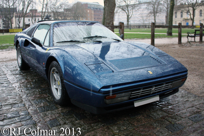 Ferrari 328 GTS, Avenue Drivers Club, Queen Square, Bristol