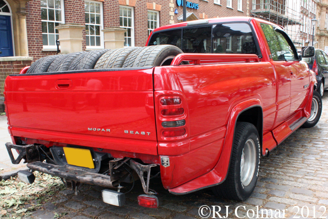 Dodge Ram 1500 Extended Cab, Avenue Drivers Club, Queen Square, Bristol