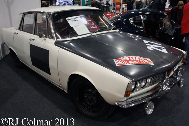 Rover 2000SC P6, Race Retro, Stoneleigh