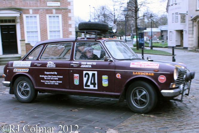 Morris 1800, Avenue Drivers Club, Queen Square, Bristol.