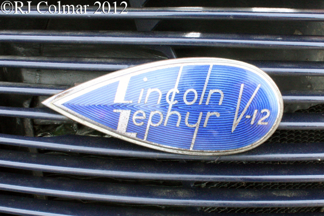 Lincoln Zephyr V12, Summer Classics, Easter Compton