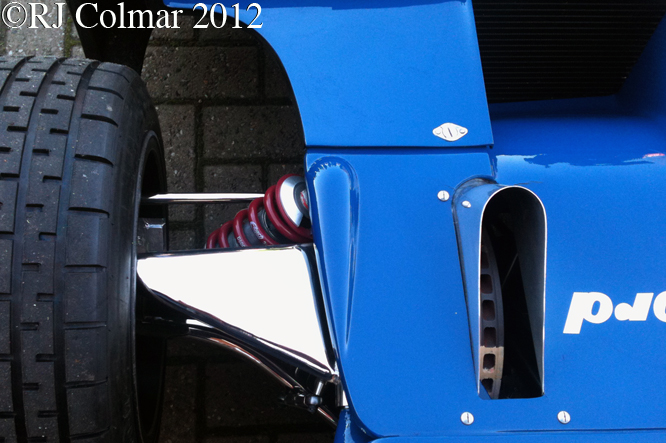Tyrrell Ford 006, BRM Day, Bourne