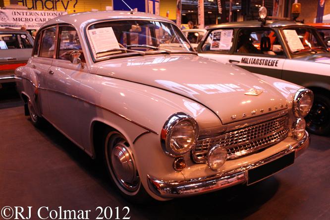 Wartburg 311, Classic Car Show, NEC, Birmingham
