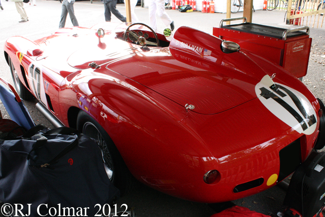 Ferrari 860 Monza. Goodwood Revival