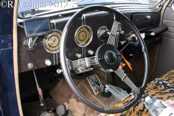 Lincoln Zephyr V12, Summer Classics, Easter Compton