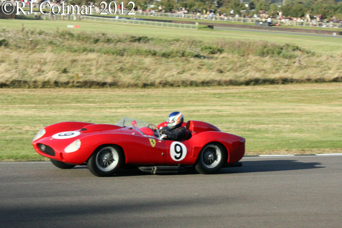 Ferrari, 290 MM, Goodwood Revival