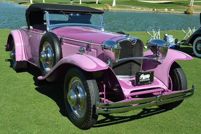 Ruxton Model C, Desert Classic Concours d'Elegance, Palm Springs, CA
