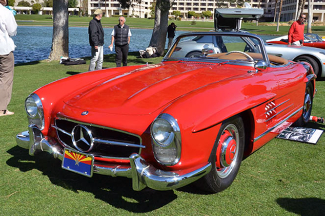 Mercedes Benz 300 SL, Desert Classic Concours d'Elegance, Palm, Springs, CA