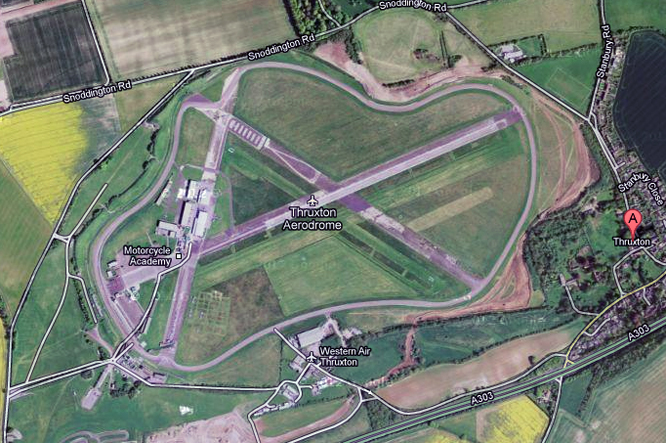 Thruxton Circuit, Hampshire, UK