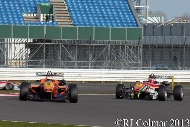 ROSENQVIST,  MARCIELLO, Dallara, FIA Formula 3, Silverstone, UK