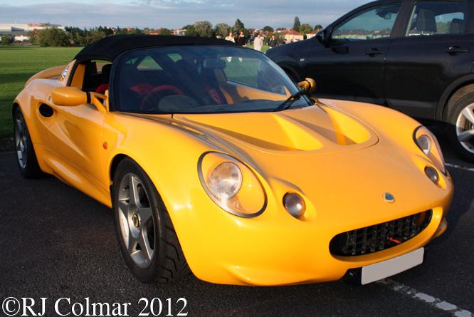 Lotus Elise Series 1, Bristol Pegasus Motor Club, BAWA