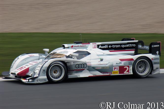 Loic Duval, Audi R18 e-tron quattro, 6 Hours Of Siverstone,
