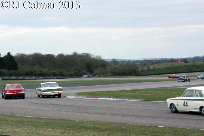 HSCC Historic Touring Car  Race, Thruxton Easter Revival