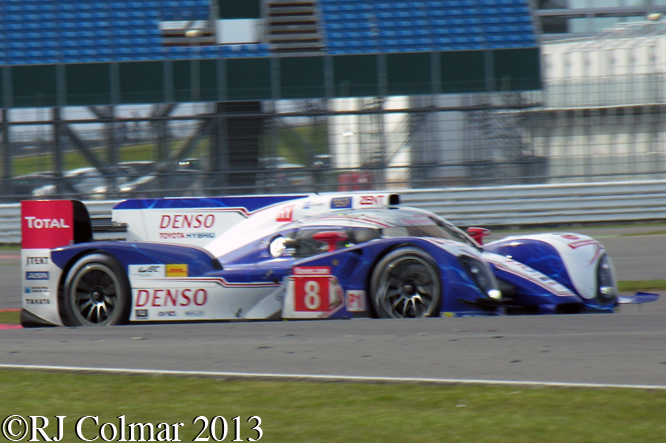 SARRAZIN, Toyota TS030 Hybrid, The Loop, 6 Hours of Silverstone