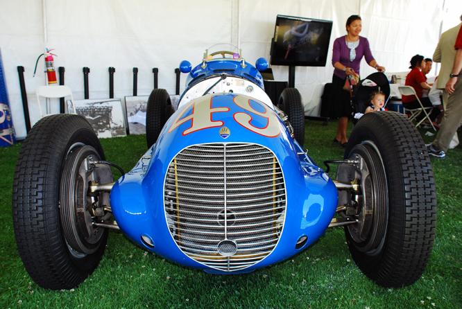 Maserati 8CTF, Palo Alto Concours d'Elegance