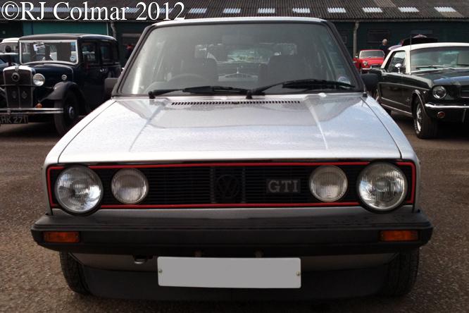Volkswagen Golf GTi, Bristol Classic Car Show, Sheppton Mallet,