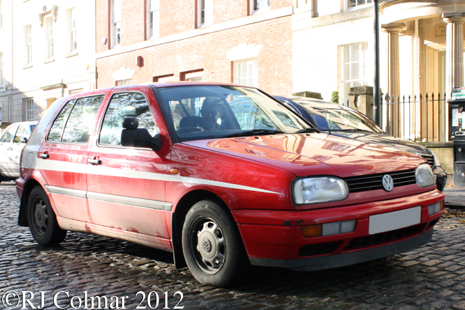 Volkswagen Golf CL Diesel, Avenue Drivers Club, Queen Square, Bristol