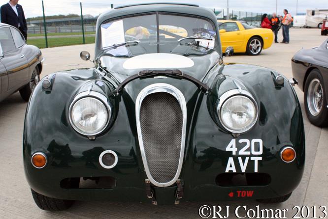 Jaguar XK140, Silverstone Classic, Silvertsone