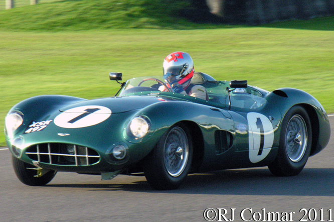 Verdon-Roe, Aston Martin DBR1/2, Goodwood Revival