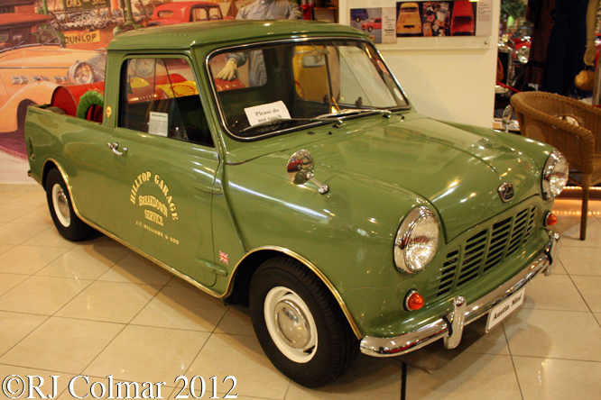Austin Mini - Pick-up, Malta Classic Car Museum, Qwara