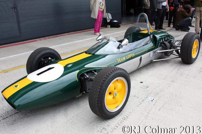 Lotus 27, Silverstone Classic, Silvertsone