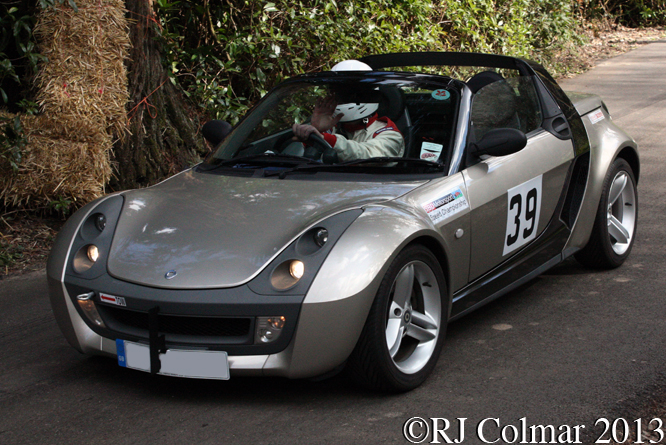 Hodson, Smart Roadster, WMC. Wiscombe Park
