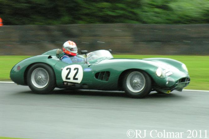 Verdon-Roe, Aston Martin DBR1/2, Gold Cup, Oulton Park
