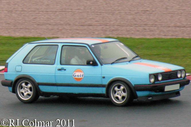 Volkswagen Golf GTi 16v, Oulton Park