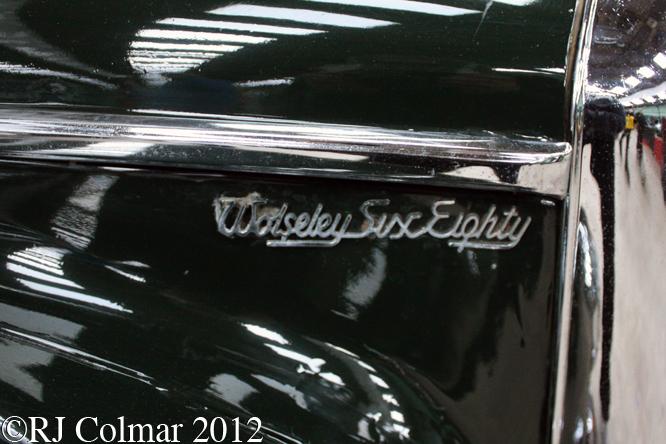Wolseley 6/80, Bristol Classic Car Show, Shepton Mallet