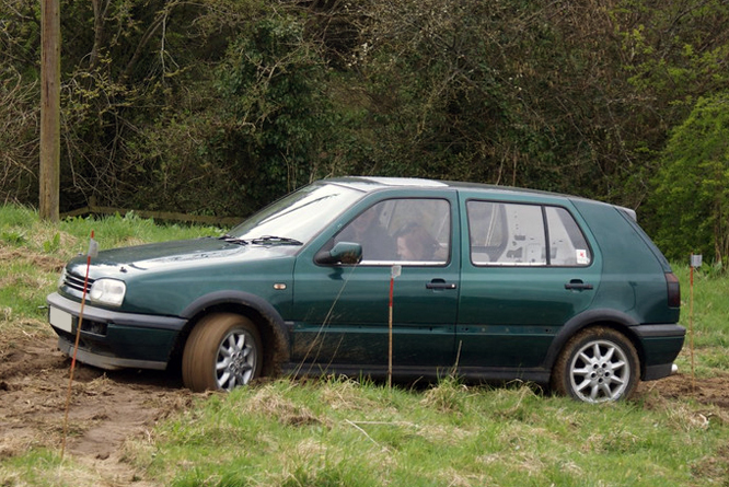 Volkswagen Golf III, Cross Trophy, Dundry