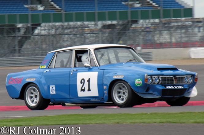 Rover 3500 P6, Silverstone Classic, Silvertsone