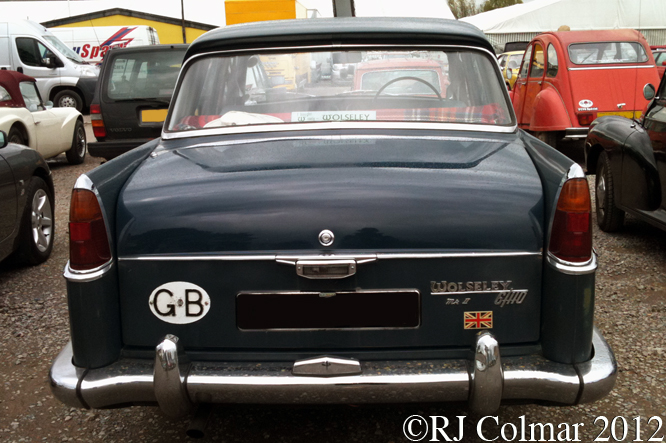 Wolseley 6/110 Mk II, Bristol Classic Car Show, Shepton Mallet
