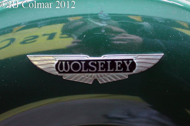 Wolseley 14/56, Bristol Classic Car Show, Shepton Mallet