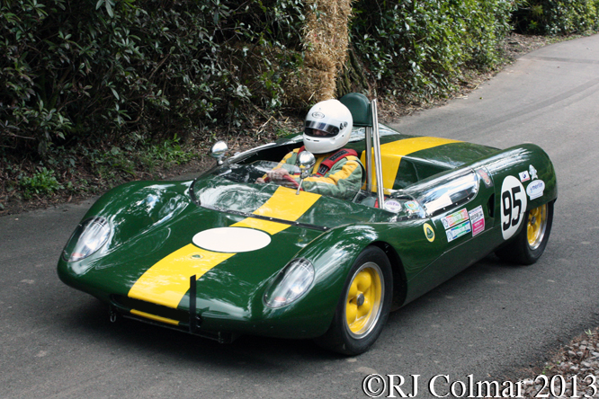 Conibear, Lotus 23B, WMC. Wiscombe Park