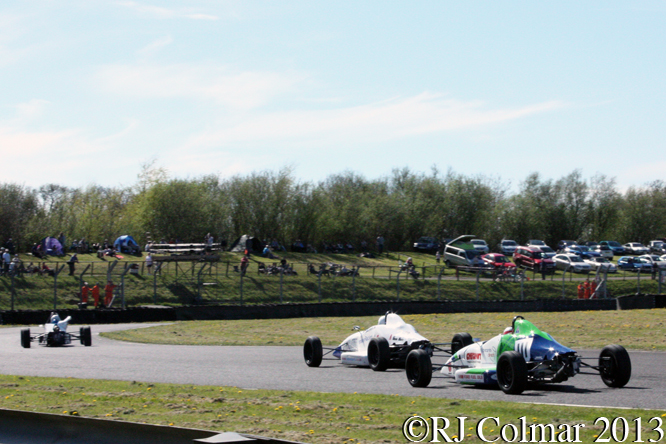 Startline Formula Ford 1600 Championship, Motors TV Live Race Day, Castle Combe