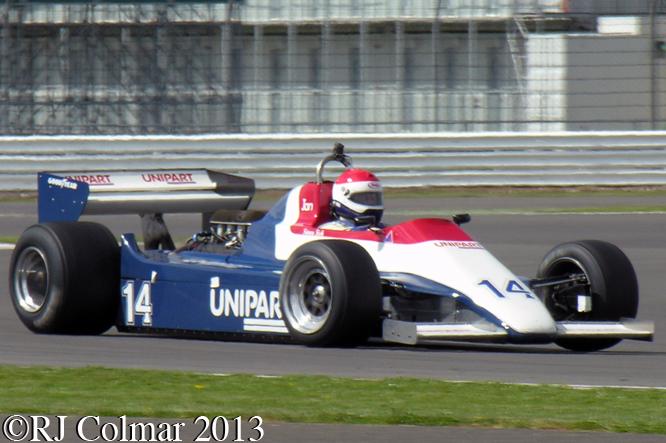 Fish, Ensign MN180, Silverstone Classic, Silvertsone