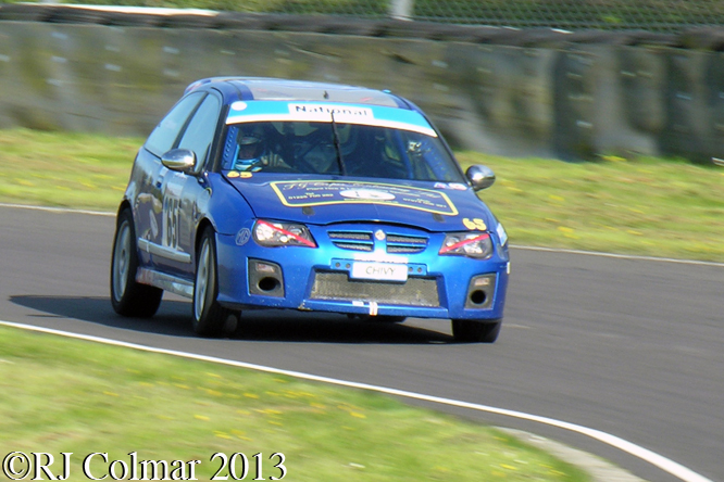 Martin Chivers, Rover MG ZR, Motors TV Live Race Day, Castle Combe