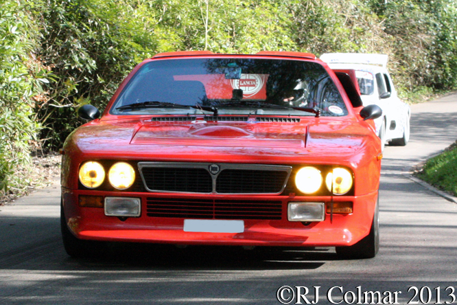 Wadsworth, Lancia 037 Stradale, WMC. Wiscombe Park