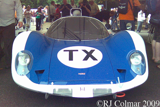 Howmet TX, Goodwood Festival Of Speed
