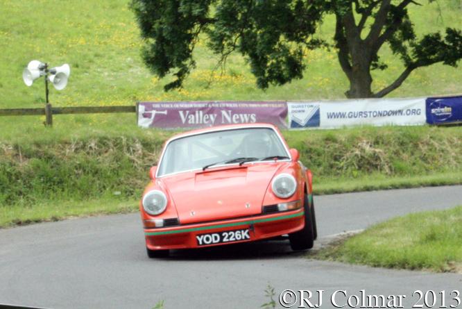 Mortimer, Porsche 911, Gurston Down, Wiltshire