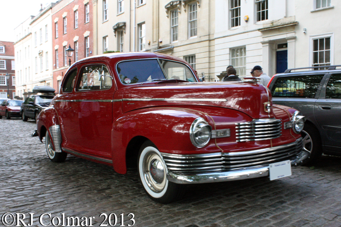 Nash Ambassador, Avenue Drivers Club, Queen Square, Bristol