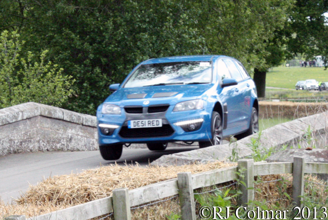 Cray/Cropley, Vauxhall VXR8 Tourer, Cholomondeley Pageant Of Power