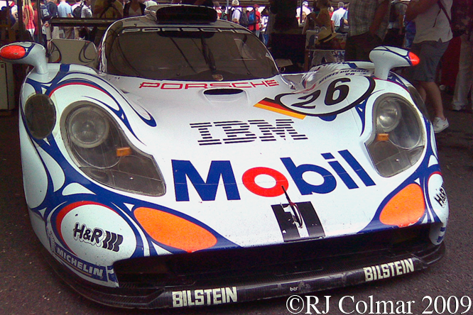 Porsche 911 GT1-98, Goodwood Festival of Speed
