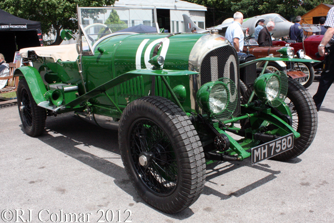 Bentley 3 litre, Brooklands Double 12, Brooklands Museum