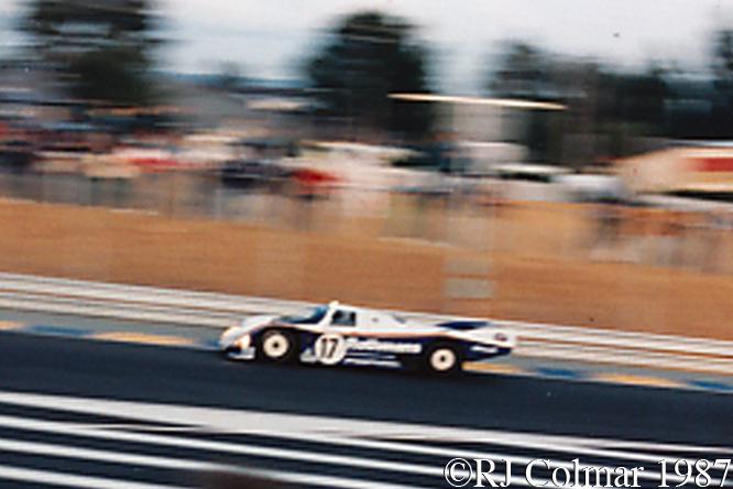 Porsche 962C, Le Mans, France